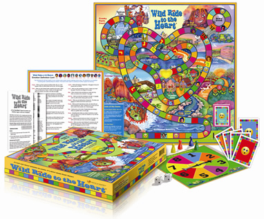 Wild Ride To The Heart Board Game HeartMath South Africa
